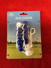 NEW OnCourse Large Bead Golf Stroke Counter - Royal