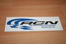 #17 - Aufkleber Sticker Bild - schwarz / blau - RCN Challenge NÜRBURGRING - NEU
