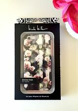 New Genuine Nicole Miller Designer Flower Rose Hard Case Cover iPhone 6/6S