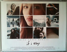 Cinema Poster: IF I STAY 2014 (Quad) Chloë Grace Moretz Mireille Enos StacyKeach