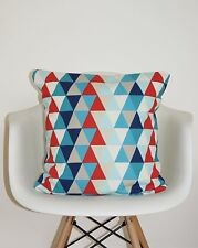 "HARLEQUIN KALEIDOSCOPE ""ALL ABOUT ME"" FABRIC CUSHION COVERS 18"" MULTI GEOMETRIC"