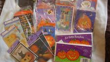 Wholesale Lot 125+ Halloween Greeting Cards Invitations Hallmark Gibson & more