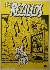 REZILLOS Top Of The Pops Officially Licensed Repro Of Iconic PUNK ROCK POSTER