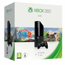 Microsoft Xbox 360 E 4gb Peggle 2 UK PAL Games Console