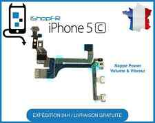 NAPPE BOUTON POWER ON/OFF + VOLUME + VIBREUR IPHONE 5C