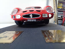 REVELL GERMANY 8850 1/12th FERRARRI 250 GTO W/ 2 TRANS KITS INTERIOR & EXTERIOR