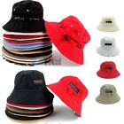 2 Style Unisex Canvas Fishing Bucket Hat Sun Visor Cap Summer Travel Outdoor Hat