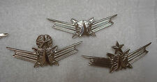 US AIR FORCE, US ARMY, SPACE OPERATIONS BADGE SET OF 3 FULL SIZE