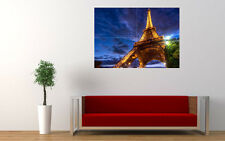 EIFFEL TOWER EVENING NEW GIANT LARGE ART PRINT POSTER PICTURE WALL