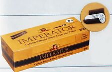 CARTEL 200 IMPERATOR Carbon Filtered Black Cigarette Tubes