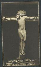 Estampa antigua Cristo de la Luz andachtsbild santino holy card santini