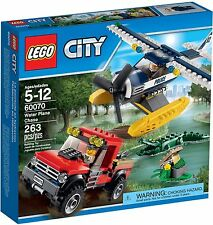 LEGO City Water Plane Chase (#60070)(Retired 2015)(Very Rare)(NEW)