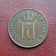 Norway 1916 bronze 5 ore