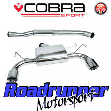"NZ02 Cobra Sport Nissan 350Z 3"" Stainless Exhaust System Centre & Rear Resonated"