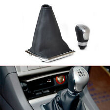 5 Speed Gear Shift Knob Shifter Gaiter Boot Cover for Ford Focus 2006-2011