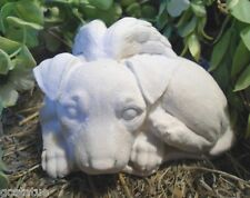 Gostatue Pit bull angel plastic mold concrete mold plaster mold dog statue mould