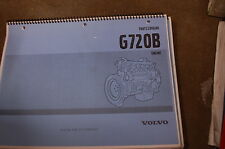 VOLVO G720B DIESEL ENGINE Parts Manual book catalog list spare owner motor shop