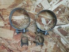 1986 Porsche 944 Gas Line Clamps Original
