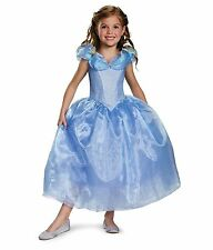 Disguise Cinderella Movie Deluxe Blue Dress Costume, L (10-12)