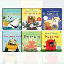 Phil Roxbee Cox Phonic Readers Collection 6 Books Set (Shark in the Park) NEW