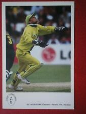 POSTCARD SPORT MOIN KHAN PAKISTAN INTERNATIONAL CRICKET COLLECTION