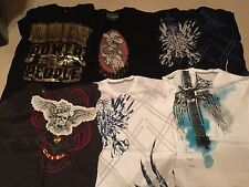 Lot of 11 Graphic T-Shirts Sz Large Ecko Cut & Sew, Pristine Condition