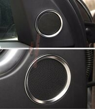 Chrome Door Speaker Sound cover trim ring land rover Discovery Sport 2015 2016