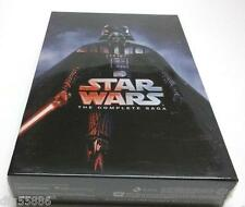 Star Wars: The Complete Saga DVD (I,II,III,IV, V, VI, 12-Disc Box Set 1-6) #BV