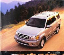2001 01 Toyota Sequoia  original sales brochure MINT