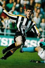 Football Photo TOMMY JOHNSON Notts County 1991-92