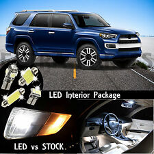 13x White Premium Interior LED Lights Package Kit for 2003-2015 Toyota 4Runner