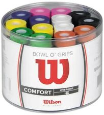 WILSON PRO OVERGRIP BOWL O' GRIPS BOX OF 50 - COMFORT - MIXED COLOURS - RRP £100