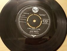 "Elvis Presley, A Big Hunk O' Love' 7"" Single"