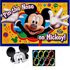 MICKEY MOUSE Fun & Friends PARTY GAME POSTER~ Birthday Supplies Decorations