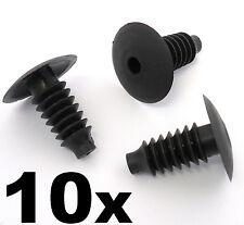 10x VW Volkswagen Audi Interior Door, Boot Lining and Carpet Trim Fastener Clips