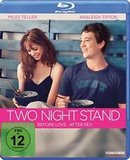 BLU-RAY TWO NIGHT STAND - ROMANTIK-KOMÖDIE - MILES TELLER + ANALEIGH TIPTON one