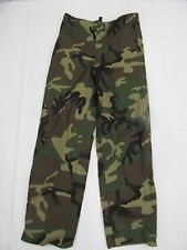 Adventure Tech Woodland / Desert Camo Gor-tex Gortex  Rain Pants Small EB0101