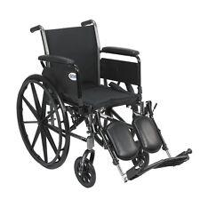 Drive Medical Cruiser III Light Weight Wheelchair w/Various Flip Back Arm Styles