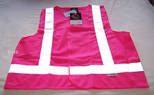 Ritemate Australia Mens Pink High Vis Safety Vest 3M Reflective Size XS New