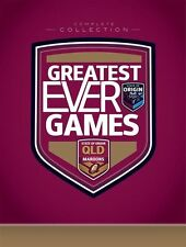 NRL State Of Origin - Greatest Ever Games - QUEENSLAND Collection (DVD-12 Disc)