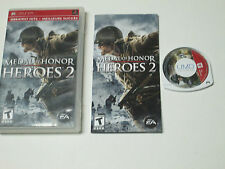 Medal of Honor Heroes 2  (PlayStation Portable, 2007) complete