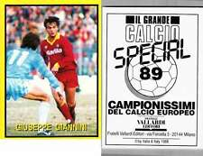 Giannini (Roma) Rare Italian Issue 1988 Football! New! Grande Calcio n.89
