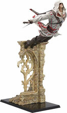 ASSASSINS CREED II 2 Statue EZIO AUDITORE LEAP OF FAITH 39cm NEU+OVP Figur