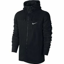 MEN'S SIZE 3XL BLACK NIKE HOODIE FULL ZIP FLEECE ADVANCE 15 AV15