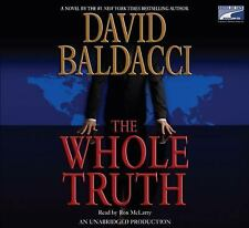 THE WHOLE TRUTH by David Baldacci ( CD, Unabridged) FREE SHIPPING