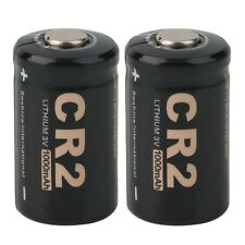 2 Pieces CR2 3.0V 1000mAh Protected Rechargeable Battery + Case for Soshine WS