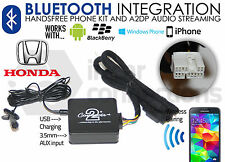 Honda Bluetooth streaming handsfree calls CTAHOBT001 AUX USB MP3 iPhone Samsung