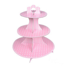 2016 Fancy Cake Cupcake 3 Tier Stand Party Wedding Kids Dessert Decorating