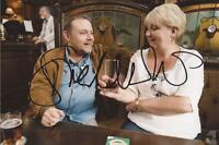 CORONATION ST: SUE CLEAVER 'EILEEN' SIGNED 6x4 ACTION PHOTO+COA