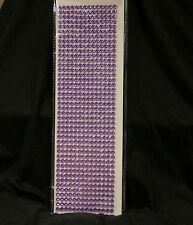 602 pcs rhinestone Crystal Self Adhesive Stickers-PURPLE DIAMOND